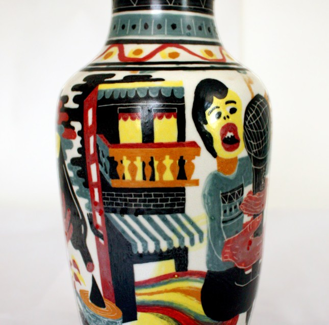 Vase made in vietnam 1